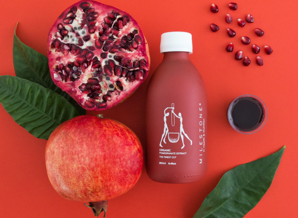 milestone in health and nutrition pomegranate